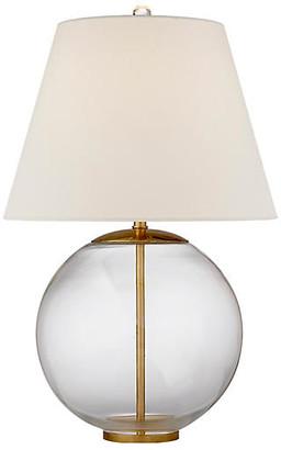 AERIN Morton Table Lamp - Clear/Gild
