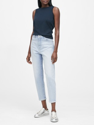Banana Republic JAPAN EXCLUSIVE High-Rise Vintage Tapered Cropped Jean