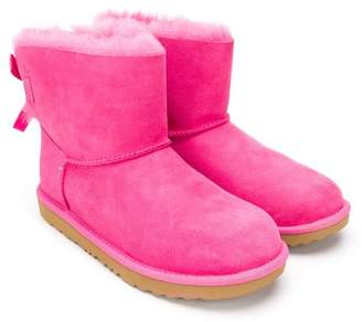 UGG TEEN mini Bailey bow II boots