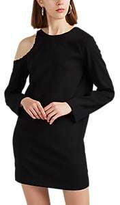 IRO Women's Breen Crepe Cold-Shoulder Dress - Black Size 34