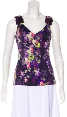 Versace Sleeveless Printed Top