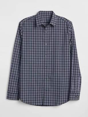 Gap Zero-Wrinkle Pattern Shirt