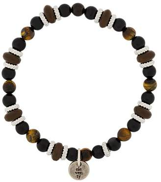 Eleventy beaded charm bracelet