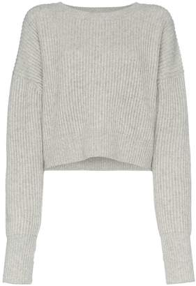 RE/DONE ribbed crop jumper