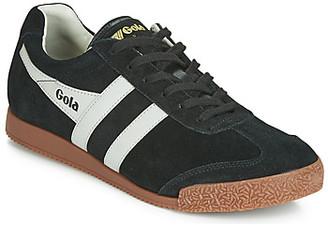 Gola HARRIER men's Shoes (Trainers) in Black