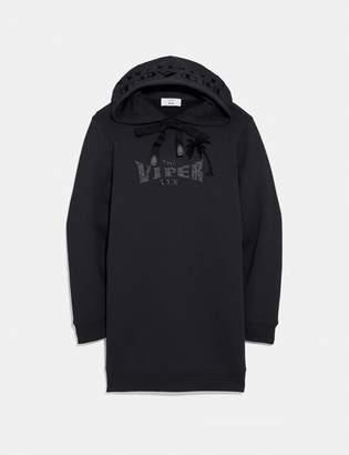 Coach Viper Room Sweatshirt Dress