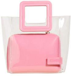 Sorbet Staud Shirley Colorblock Mini Tote Bag, Pink