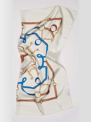 Silk Scarf in Horsebit