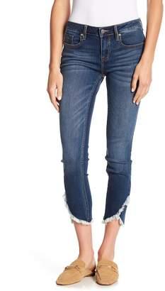 Vigoss Marley Frayed Tulip Hem Jeans