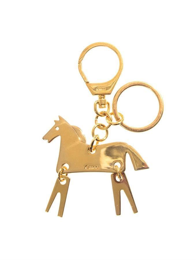 Chloé Horse keyring