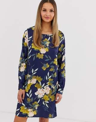 Vila floral shift dress
