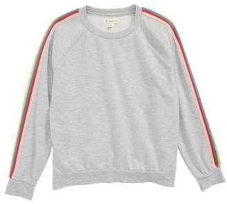 Tucker + Tate Rainbow Stripe Sweatshirt