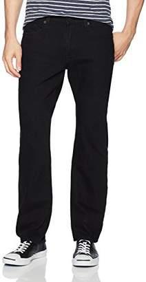 Big Star Men's Division Modern Straight Jean in Vanta Black