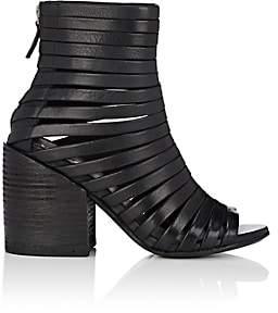 Marsèll Women's Multi-Strap Leather Ankle Boots - Black