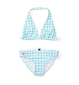 Polo Ralph Lauren Gingham Two-Piece Swimsuit (8-14 Years)