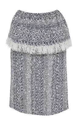 Frederick Anderson Herringbone Skirt