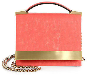 Brian Atwood Ava Small Top-Handle Clutch