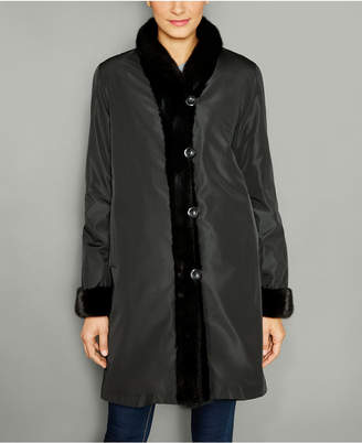 The Fur Vault Reversible Mink Fur Coat