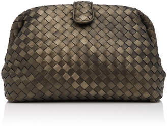 Bottega Veneta The Lauren Woven Leather Clutch