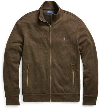 Ralph Lauren Cotton-Blend-Fleece Jacket