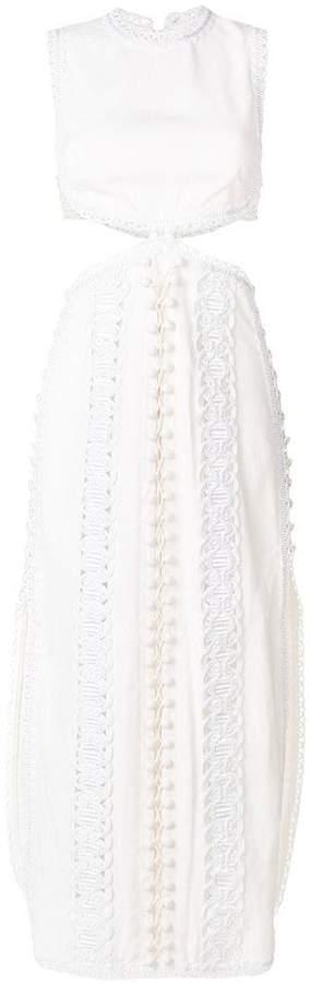flared cord dress