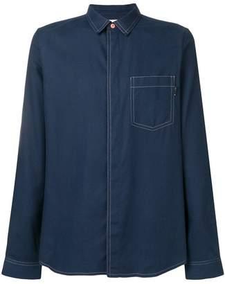 Paul Smith contrast stitch shirt