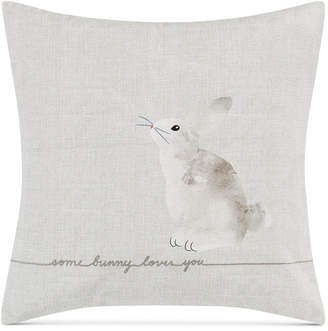 ED Ellen Degeneres Some Bunny Loves You Square Decorative Pillow Bedding