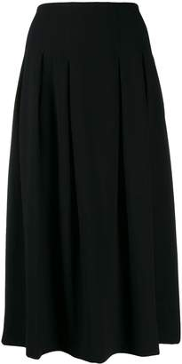 Steffen Schraut pleated midi skirt