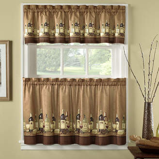 CHF Wines 3-pc. Rod-Pocket Kitchen Curtain Set