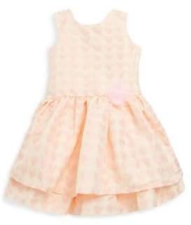 Little Girl's Heart-Print Dress