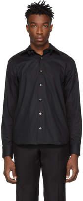 Ann Demeulemeester Black Detachable Collar Shirt