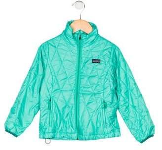 Patagonia Girls' Mock Neck Quilted jacket