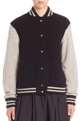 Marc Jacobs Wool & Cashmere Long Sleeve Jacket