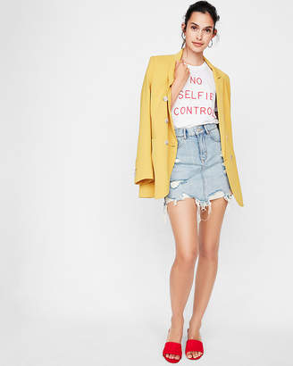 Express One Eleven No Selfie Control Graphic Tee
