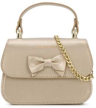 MonnaLisa bow top handle bag
