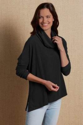 Soft Surroundings Asymmetric Luscious Pullover