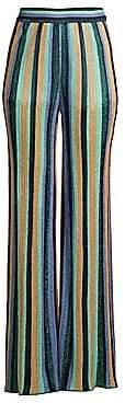 M Missoni Women's Lurex Striped Pants