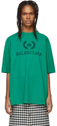 Balenciaga Green BB T-Shirt