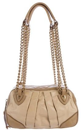 Marc JacobsMarc Jacobs Quilted & Pleated Leather Bag