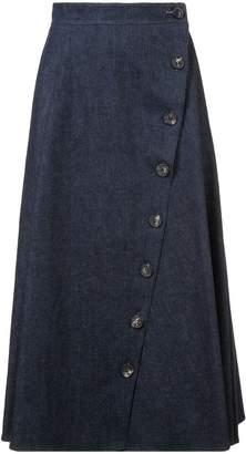 Carolina Herrera A-line mid skirt