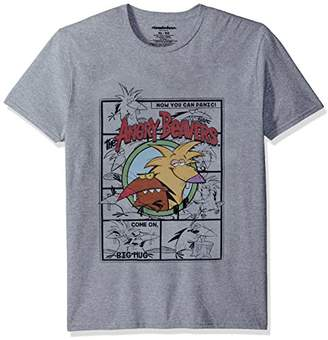 Nickelodeon Men's The Angry Beavers Short Sleeve Graphic T-Shirt