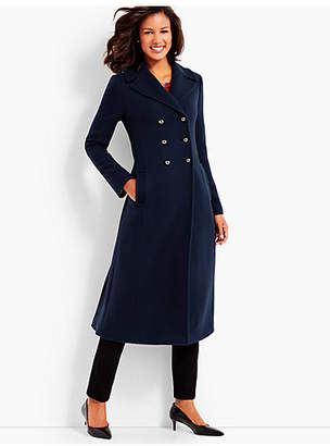 Talbots Cashmere Officer's Coat