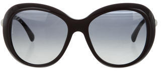 Chanel CC Butterfly Sunglasses