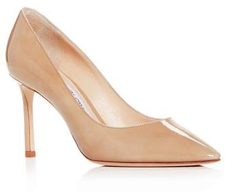 Jimmy Choo Women's Romy 85 Pointed-Toe Pumps