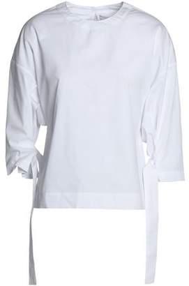 Rosetta Getty Layered Cotton-Jersey Tunic