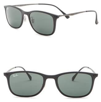 Ray-Ban LightRay 52mm Rectangular Sunglasses