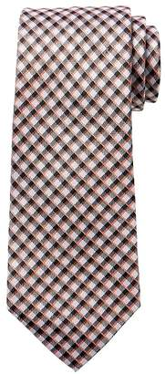 Banana Republic Mini Check Silk Nanotex® Tie