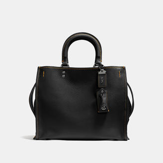 COACH Coach 1941 Rogue In Glovetanned Pebble Leather $795 thestylecure.com
