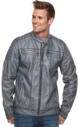 X-Ray Xray Men's XRAY Slim-Fit Moto Jacket