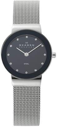 Skagen Watch, Women's Stainless Steel Mesh Bracelet 358SSSBD